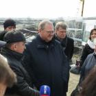 Мельниченко оценил ход реконструкции автодороги в районе улицы 40 лет Октября