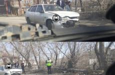 В Пензе в жесткой аварии разбилась «четырнадцатая»