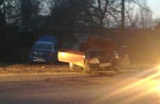 В Пензенской области в серьезном ДТП изуродовало две машины. ФОТО