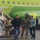 В Пензенском аэропорту попало на видео задержание пассажира