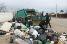 В Железнодорожном районе Пензы убрали несанкционированную свалку