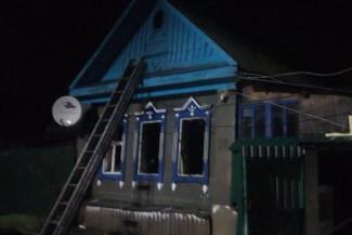 Страшный пожар в Пензенской области унес жизни мужчины и женщины