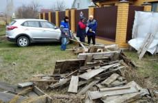 В Пензе рассказали о пожарной безопасности жителям Зари