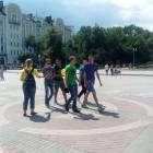 Волонтеры «Справедливой России» поздравили пензенцев с Днем молодежи