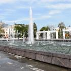 В Пензе стал известен график работы фонтана на улице Московской