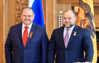 Почетного знака «Во славу земли Пензенской» удостоен Олег Кочетков