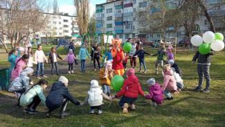 В Пензе устроили праздник для жителей улицы Минской