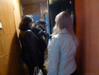 В Ленинском районе Пензы проверили 17 семей «группы риска»