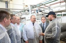 Врио пензенского губернатора посетил завод растительных масел в Лопатино