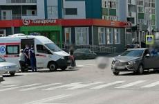 За утро в Пензе произошло два ДТП