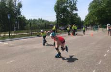 В Пензе впервые состоялись соревнования по роллер спорту