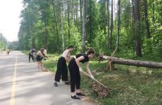 Пензенские школьники приняли участие в экологической акции в Ахунах