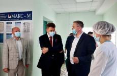 Пензу посетил главный внештатный онколог Минздрава РФ