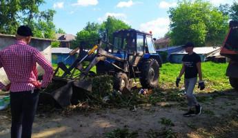 С берегов Суры вывезли более 8 кубометров мусора