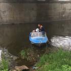 В Пензе вытащили из реки мертвого человека