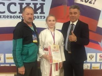 Золото Кубка России завоевала каратистка из Пензы