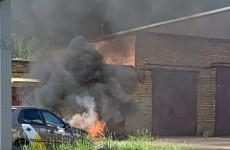 В Пензе полыхающий автомобиль «Яндекс.Такси» тушили 30 человек