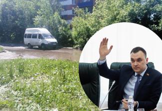 Потоп в Арбеково. По округу депутата Цесарева текут реки мочи