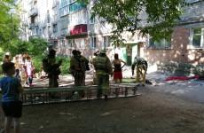 В Пензе из горящего жилого дома эвакуировали 15 человек
