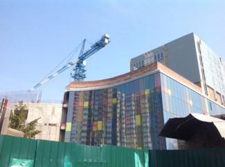 Срок окончания строительства пензенского цирка перенесли на следующий год