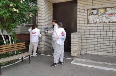 В Пензе продолжают бороться с незаконными записями на стенах домов