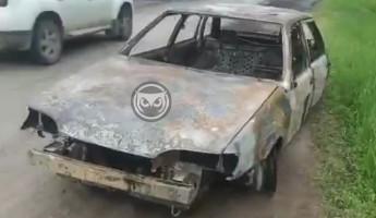 ЧП со сгоревшей легковушкой прокомментировали в пензенском ГУ МЧС