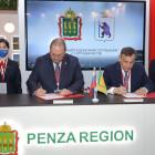 Пензенская область будет сотрудничать с Республикой Марий Эл