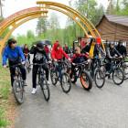 В Пензе полицейские, сотрудники Росгвардии и общественники организовали велопробег для школьников