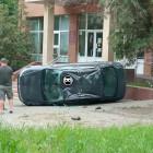 В Пензе машина чуть не влетела в здание Пенсионного фонда
