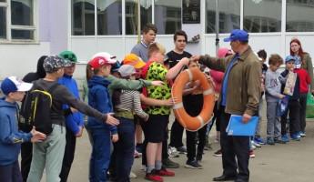 Пензенским школьникам рассказали о правилах поведения у воды