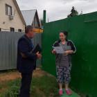 В Пензе жителям частного сектора рассказали, как действовать при пожаре