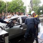 Пенсионера, попавшего в ДТП на улице Попова в Пензе, пришлось вырезать из машины