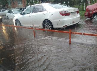 «Пензеция». Горожане вновь сообщают о затопленных улицах. ФОТО
