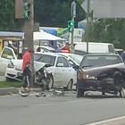 На улице Аустрина в Пензе разбились две легковушки. ФОТО