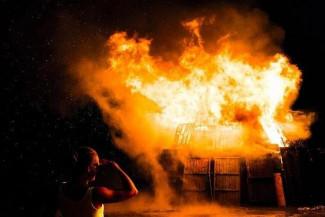 Страшный пожар в Пензенской области унес жизнь молодой женщины