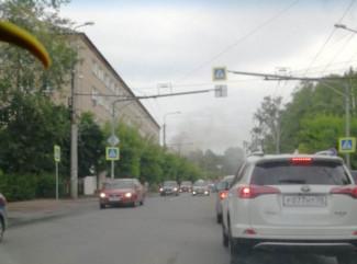 Серьезный пожар в Пензе: полыхает студенческое общежитие. ФОТО