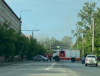 В Пензе из горящего общежития эвакуировали 30 человек