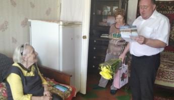 В Пензе поздравили с вековым юбилеем ветерана Великой Отечественной войны