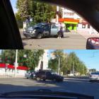 На улице Коммунистической в Пензе жестко столкнулись две машины