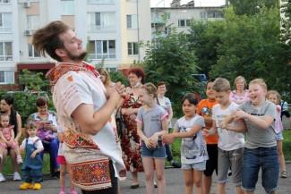 В Пензе устроили праздник для жителей улицы Ворошилова