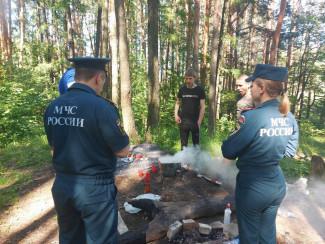 В Пензе в районе Ласточкиного озера прошел профилактический рейд