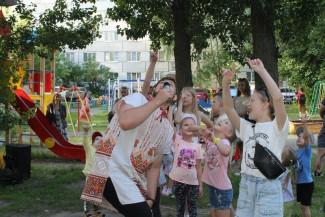 В Пензе устроили праздник для жителей улицы Плеханова