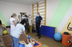 Врио пензенского губернатора посетил отделение социальной реабилитации «Мечта»
