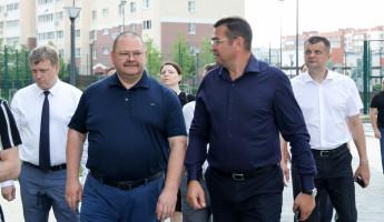 Врио пензенского губернатора посетил жилой комплекс «Квартет»