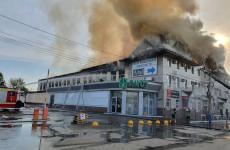 Пожар в пензенском ТЦ «Триумф» ликвидирован – МЧС