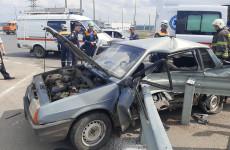 Опубликованы шокирующие фото с места смертельной аварии в Пензе