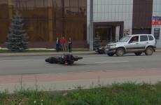 На улице Центральной в Пензе разбился молодой мотоциклист. ФОТО