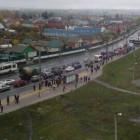 «Нужны развязки!». Жители Терновки просят Мельниченко решить вопрос с дорогами