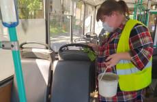 В Пензе проверили, как дезинфицируют общественный транспорт
