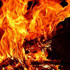 Ночной пожар в пензенской Нахаловке тушили 15 человек